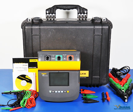 Fluke 1550C 5kV Insulation Tester MegOhmmeter NIST Calibrated