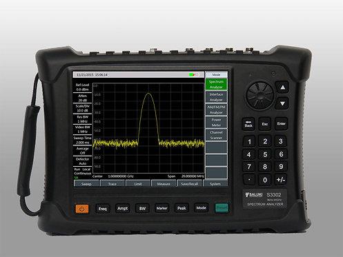 Saluki S3302 Handheld Spectrum Analyzer (up to 44GHz)