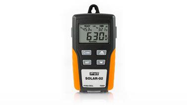 HT Instruments SOLAR02 Temperature Irradiation Recorder Tilt Angle Meter