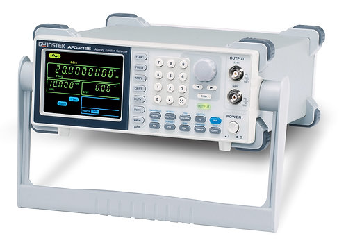 GW Instek AFG-2125 25MHz Arbitrary Function Generator AFG AWG Ext. Count