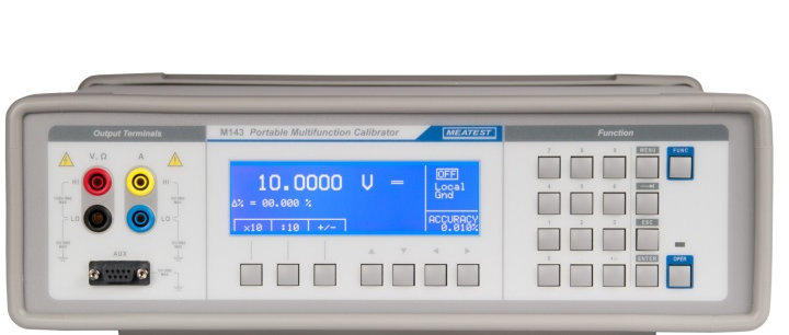 Meatest M143 Portable Multifunction Calibrator 2A/20A, 1000V AC/DC 60ppm