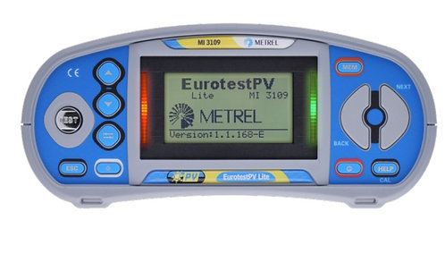 Metrel MI 3109 PRO EurotestPV- LITE, PV, Insulation, Continuity Tester