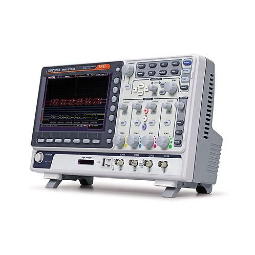 GW Instek MSO-2204EA Mixed Signal Oscilloscope 200MHz, 4-channel DSO 25MHz AFG