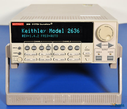 Keithley 2636 SourceMeter SMU 2 Channel (Dual Channel) - NIST Calibrated