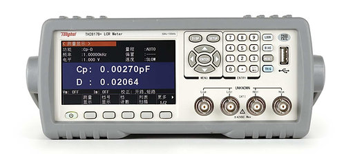 Tonghui TH2817B Precision LCR Meter 50Hz-100kHz 10 Frequency Points