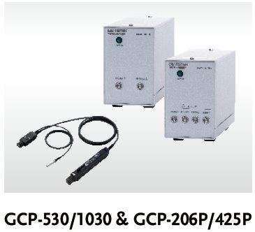 GW Instek GCP-530/1030 Current Probes and GCP-206P/425P Power Supply