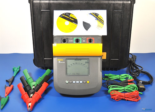 Fluke 1555 10kV Insulation Tester - NIST Calibrated with Warranty