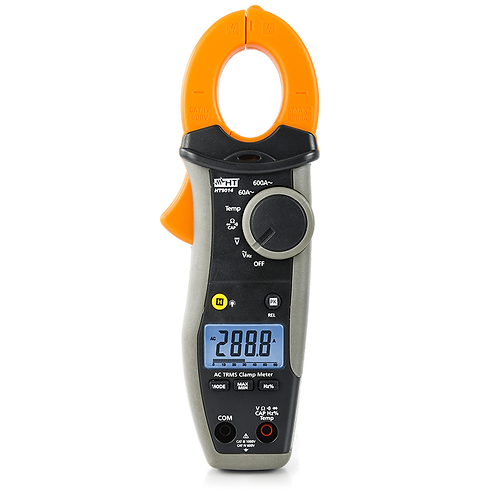 HT Instruments HT9014 Professional clamp meter AC 600A TRMS, CAT IV 600V