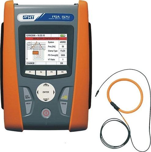 HT Instruments PQA 824 Power Quality Analyzer Voltage Spikes (5µs) Measurement