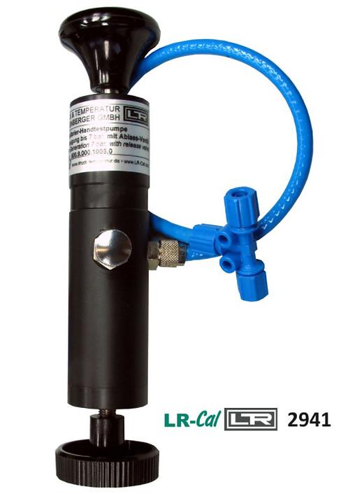 LR-Cal 2941 Pneumatic Vacuum Hand Pump -0.8 bar to -24 inHg