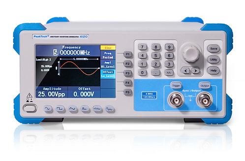 Peaktech P4120 1 Channel Arbitrary Waveform Generator 1 µHz – 5 MHz