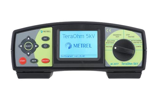 Metrel MI 2077 TeraOhm 5 kV Insulation Tester megger