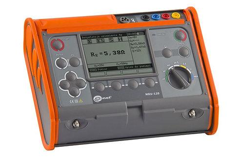 Sonel MRU-120 Earth Resistance and Resistivity Meter CATIII 600V Tester