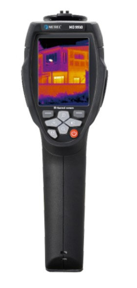 Metrel MD 9930 Thermal camera, 50 hz, Automatic Markers