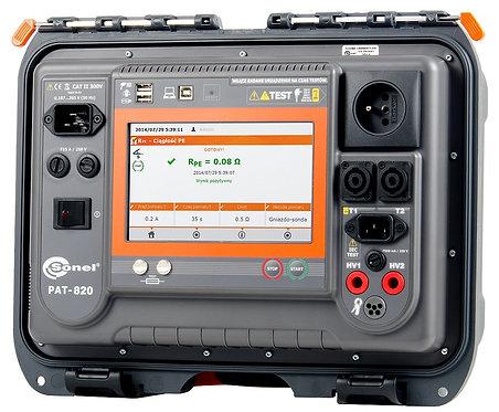 Sonel PAT-820 Portable Appliance Tester 25A 500V RCD