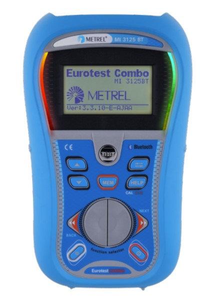Metrel MI 3125 BT EurotestCOMBO Insulation, Continuity Tester, TRMS, RCD 1000V