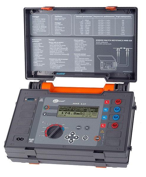 Sonel MMR-620 MicroOhmmeter DLRO ±(0.25% m.v + 2 digits) Accuracy  IP54