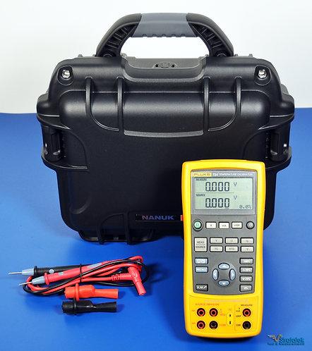 Fluke 724 Temperature and Multifunction Process Calibrator - NIST Calibrated