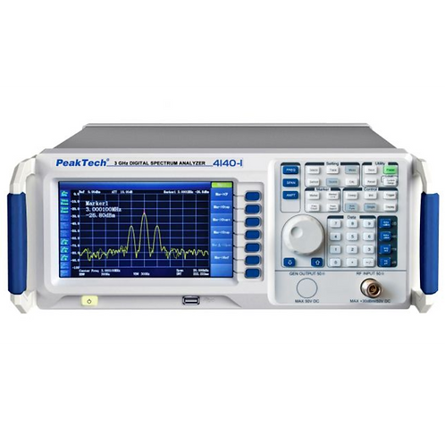 Peaktech P4140 and P4140-1 Digital Spectrum Analyzer 9kHz - 3.0GHz