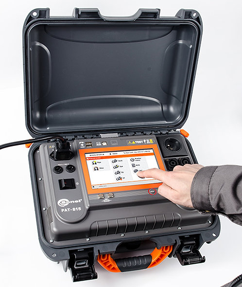 Sonel PAT-815 Portable Appliance Tester 25A 500V RCD