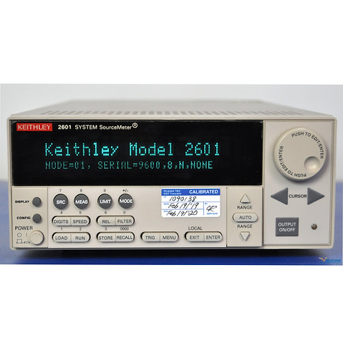 Keithley 2601 SourceMeter SMU 40V 10A - NIST Calibrated with Warranty