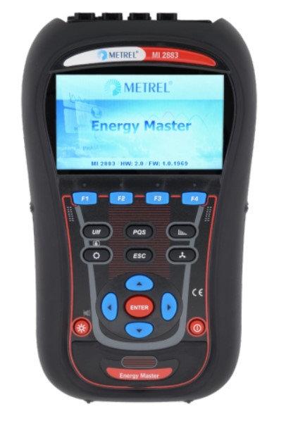 Metrel MI 2883 Energy Master, Voltage/Current Power TRMS, VFD ST
