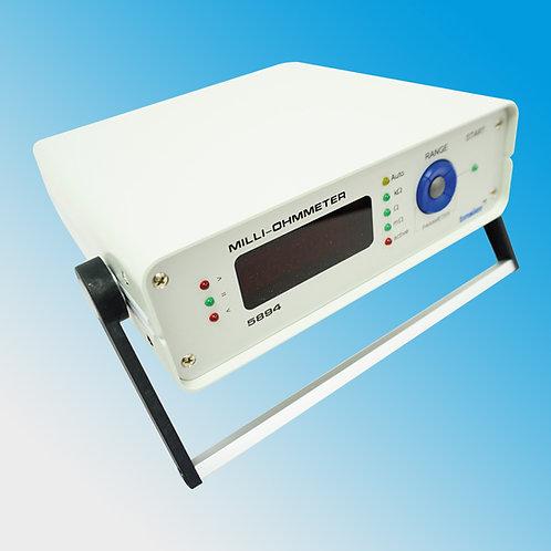 Tinsley 5894 Wide Range Precision Ohmmeter 1.0000 mOhm to 100.00 kOhm