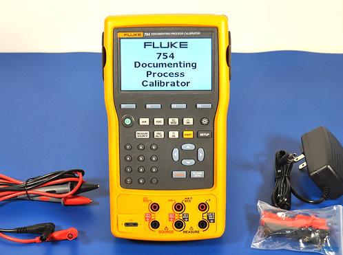 Fluke 754 Process Calibrator HART - NIST Calibrated with Warranty