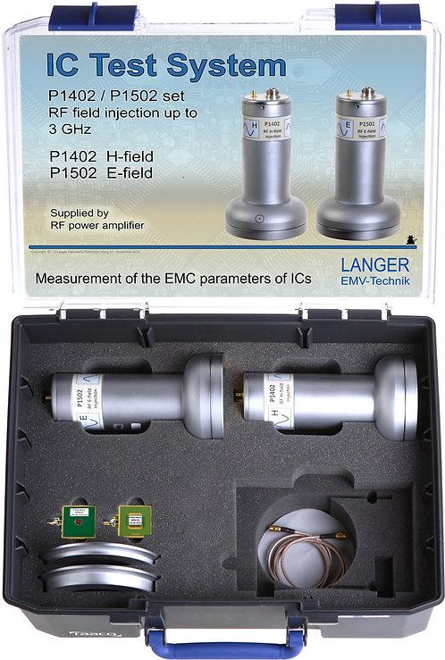 Langer EMV P1402 / P1502 Probe Set RF Field Coupling up to 3 GHz