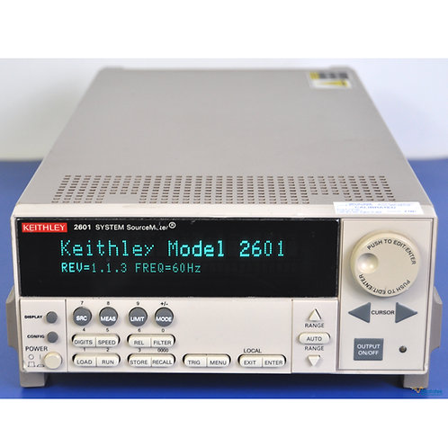Keithley 2601 SourceMeter SMU 40V 10A Pulse - NIST Calibrated with Warranty