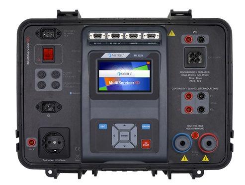 Metrel MI 3325 MultiServicerXD,  Continutity, Insulation, RCD Tester