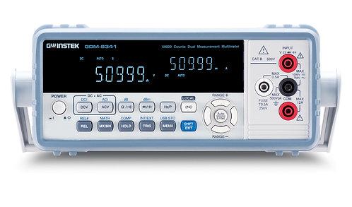 GW Instek GDM-8341 Digital Multimeter Benchtop DMM 50,000 Counts