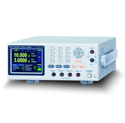 GW Instek PPH-1503/1503D Dual Range DC Power Supply
