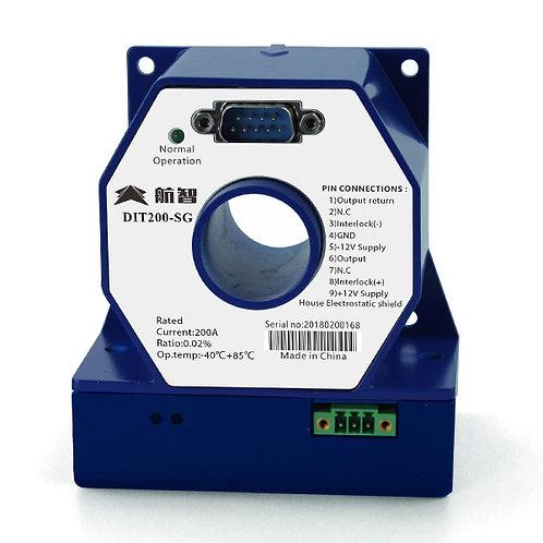 Hangzhi DIT200-SG 200 Amp High Precision Digital Current Transducer 200ppm