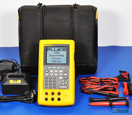 Fluke 743B Documenting Process Calibrator - NIST Calibrated with Warranty