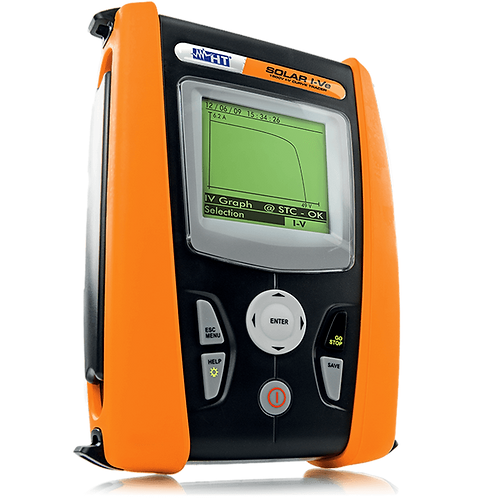 HT Instrument SOLAR I-Ve Single Phase Installation Tester 1500V/10A Photovoltaic