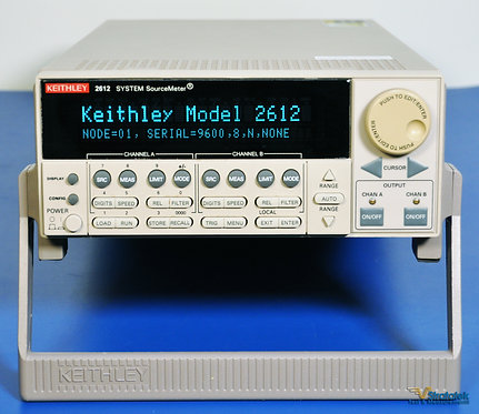 Keithley 2612 SourceMeter SMU 2 Channel (Dual Channel) - NIST Calibrated