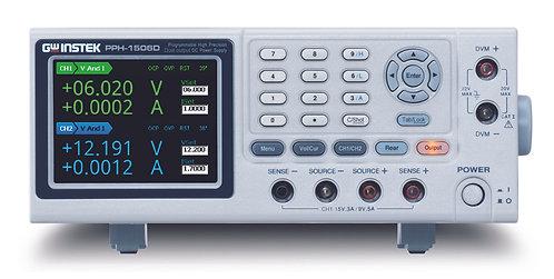 GW Instek PPH-1506D Dual Channel DC Power Supply 15V 3A