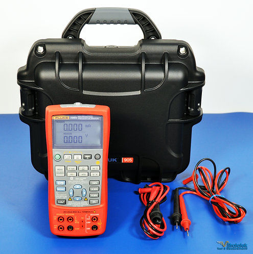 Fluke 725Ex Multifunction Process Calibrator - NIST Calibrated with Data