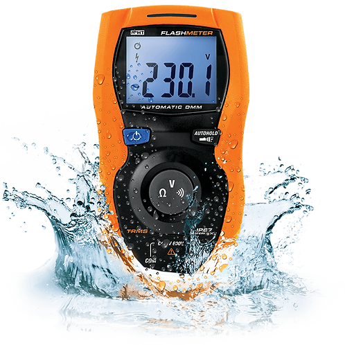 HT Instruments FLASHMETER TRMS DMM Unbreakable Water Resistant 600V Auto Measure