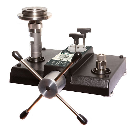 LR-Cal LDW-HK Hydraulic Deadweight Tester Pressure Balance 0.025% 16000 PSI
