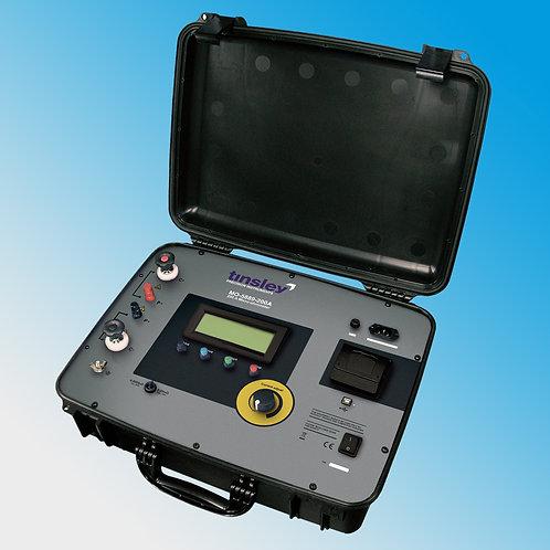 Tinsley MO-5889-200A Portable Digital Micro-ohmmeter 200 Amp DLRO