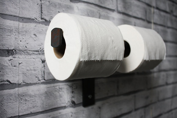 INDUSTRIAL DOUBLE TOILET PAPER HOLDER