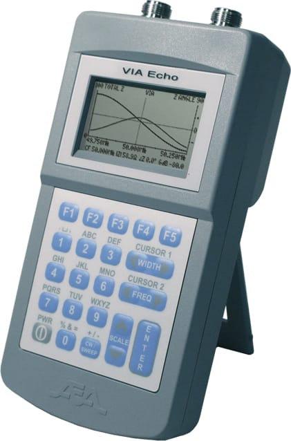 AEA Via Echo 2500 VNA 4MHz to 2.5 GHz Vector Impedance And Spectrum Analyzer