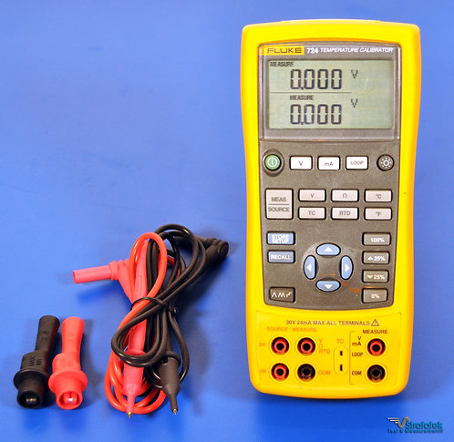 Fluke 724 Temperature and Multifunction Calibrator NIST Calibrated with Warranty