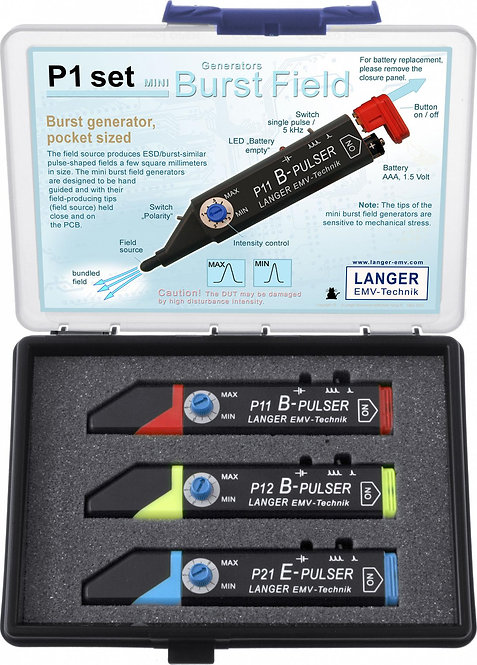 Langer EMV P1 Set Mini Burst Field Generators