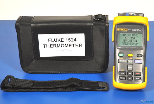 Fluke Hart Scientific 1524 Dual Channel Reference Thermometer PRT Probe 5616-12
