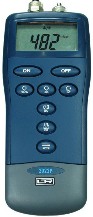 LR-Cal 2000 Digital Handheld Manometer 0 - 145 PSI (10 bar) 0.15% Accuracy