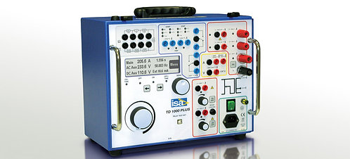 ISA TD1000PLUS Secondary Injection Relay Test Set