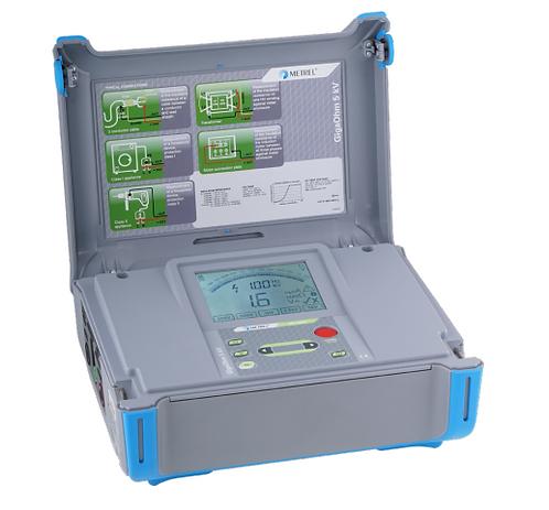 Metrel MI 3202 GigaOhm 5 kV Insulation Tester megger